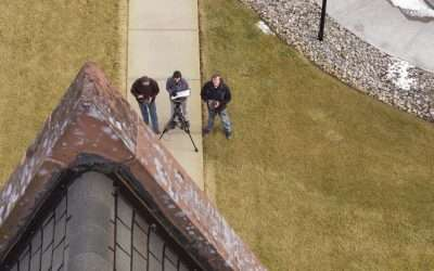 Wayne Co. Courthouse Surveyed By Drone