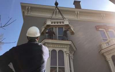 Kennard House Window Bays are done!
